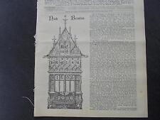1898 baugewerkszeitung 68/Berlin FA Nietsch français Str. Pierre-Ascenseur