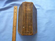 Vintage Holy Bible Leather Bound dated 1828