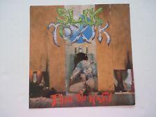 Slik Toxik Doin The Nasty LP Record Photo Flat 12X12 Poster