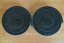 2 Rolls of Sticky Black Single Sided Foam Tape 10mm Wide x 6mm Thick 4m in Total