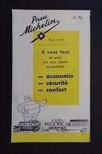 Dépliant pneu MICHELIN poids-lourd camion truck bibendum tyre catalog Katalog