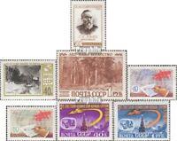 Sowjet-Union 2382,2383,2384,2388-89, 2390-91 (kompl. Ausg.) gestempelt 1960 Sond