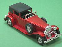 Y-4 Duesenberg Model J Town Car 1930 rot Matchbox 1:43 models of yesteryear MOY