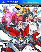 BlazBlue Chrono Phantasma PlayStation Vita, PSV Brand New
