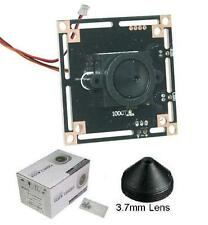 "Sunvision CCTV 1000TVL 1/3.5"" HD CMOS Board Camera + 3.7 mm Pinhole Lens (KC10S)"