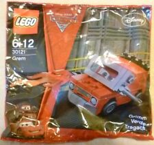 Collectable Lego Polybag - Disney Pixar - Cars - Grem - 30121- 2011 - BNIP