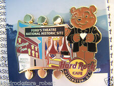 2015 HARD ROCK CAFE WASHINGTON DC FORD'S THEATRE/NATIONAL PARK BEAR SERIES PIN