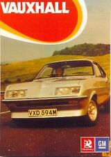 Vauxhall Firenza Droopsnoot - Modern postcard by Vintage Ad Gallery