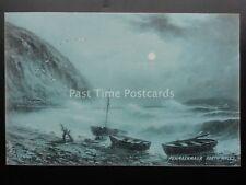 North Wales PENMAENMAUR c1905 G.E.NEWTON by Raphael Tuck Sapphire Rough Sea 6335