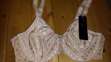 Wacoal Spot On Underwire Bra 855285 Nude 32 DD NEW with tags