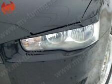 Mv-Tuning Front Eyelids Eyebrows Headlights Covers Mitsubishi Lancer 10 X