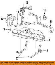 GM OEM Fuel Tank-Filler Neck Tube Pipe 22638606