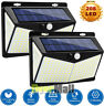 Solar Powered 208LED Light Waterproof Outdoor Security Garden Lamp Dusk-to-Dawn