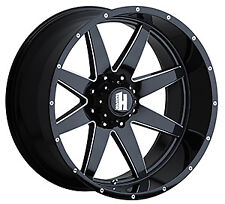 Havok H112, 20 X 12, Black mille, Milled Rivet, -44, Each For Che 1500 h1092026