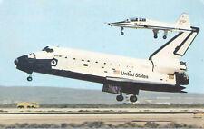 NASA Space Shuttle Challenger Postcard  Maiden Flight 1983