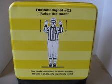 Football Signal #22 Square Tin ~ *Gift Idea
