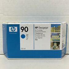 Genuine New HP 90 Cyan (C5060A) 225ml Ink Sealed Cartridge - OEM