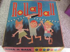 1950/60'S UNBRANDED ROLL A BALL GAME COMPLETE EXCEPT INSTRUCTIONS