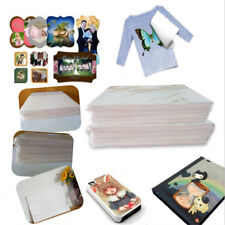 100 Sheets A4 Sublimation Paper Iron On Paper For Fabric T-Shirt Transfer Paper