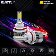 1850W 277500LM 9007 HB5 COB LED Headlight Kit Hi/Low Beam White 6000K High Power