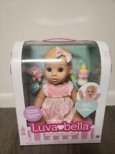 RARE SOLD OUT LUVABELLA REALISTIC EXPRESSION BABY DOLL BLONDE GIRL 6044112