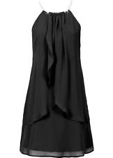 Bodyflirt Necklace Collar Party Dress Black Size UK 16 Dh091 CC 04