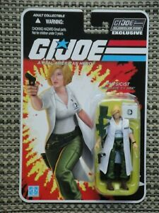 GI Joe Collectors Club G.I. Jane action figure Physicist MOC Star Case