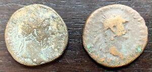 ROME - LOT DE 2 DUPONDIUS À IDENTIFIER (3)
