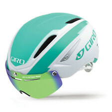 Casco Aero Giro Air Attack Shield Bianco Turchese M (55-59cm)