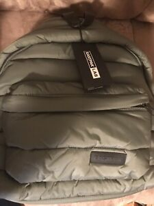 Eastpak Puffer Lab Padded Pak'r Backpack Khaki Green NWT