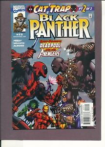 Black Panther 23 vs Deadpool NM 9.4