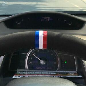 DIY 2*Car Steering Wheel Grill Bar Strip Decal Sticker M-Color Germany Flag