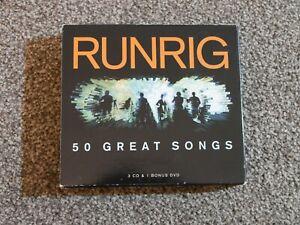 Runrig - 50 Great Songs. Includes DVD