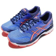Asics GT-2000 5 D Wide Blue Coral Pink Women Running Shoes Sneakers T758N-4006