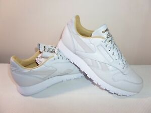 Reebok Classic Leather Running Trainers Shoes Size 7.5 UK/41 EUR