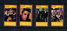 N429 RUANDA Beatles Elvis Presley The Rolling Stones Sex Pistols Musica