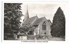 Postcard St. Pancras, Arlington Sussex RP UP  (A7)