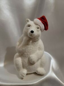 Dennis East International Christmas Polar Bear Figurine by Greenbrier Internatio