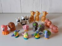 Bundle Of Fisher Price Little People Animals Childs Toy Play Set  x 17