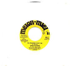 MFD IN CANADA FRENCH QUEBEC POP 45 RPM GINETTE RENO : MA CHANSON C'EST TOI