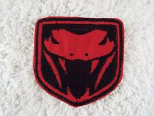 "Dodge VIPER Logo Emblem 2-3/4"" Embroidery Iron-on Patch (E13)"