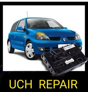 Renault Clio UCH (BSI) Body Control Module rebuild service.