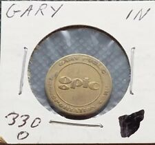 New listing Gary Indiana ~ Public Transportation Corp. Token ~ In330O