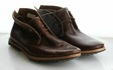 26-40 MSRP $299 Men's Size 9 Timberland Wodehouse Brown Leather Lace Up Chukka