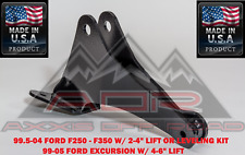 """DROP TRACK BAR BRACKET FOR 99.5-04 F250-350 WITH 2-4"""" LIFT OR LEVELING KIT 4X4"""