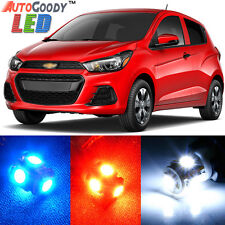 6 x Premium Xenon White LED Lights Interior Package Upgrade for Chevy Spark