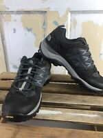 The North Face Trail Running Shoes Mens Size 8 Black Lace Up Gortex Reflective