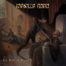 CD Box Manilla Road To Kill A King Deluxe Box incl. Fla, Plectrum,Magnet Sticker