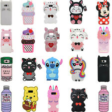 3D Cartoon Silicone Case For Samsung Galaxy S10E S10 Plus S10 S9 S9+ S8 Note 9 8