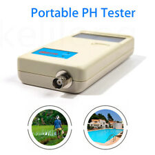PH Meter 0.0-14.0 pH Detector Analyzer Temperature Monitor Water Quality Measure